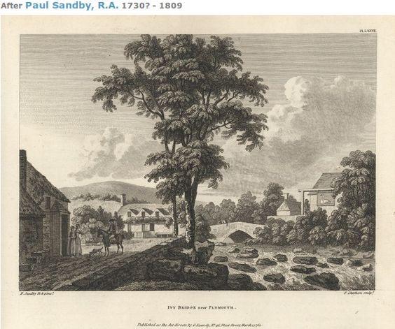 The town in the eighteenth century, Paul Sandby RA