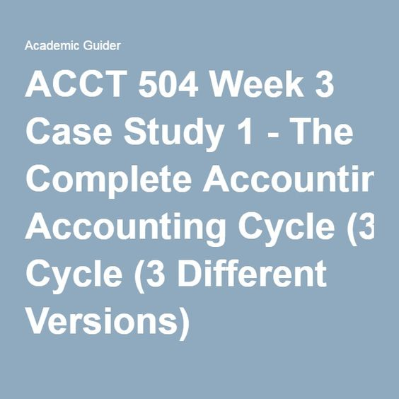 ACCT     Week   Case Study       Cash Budgeting     LBJ Company