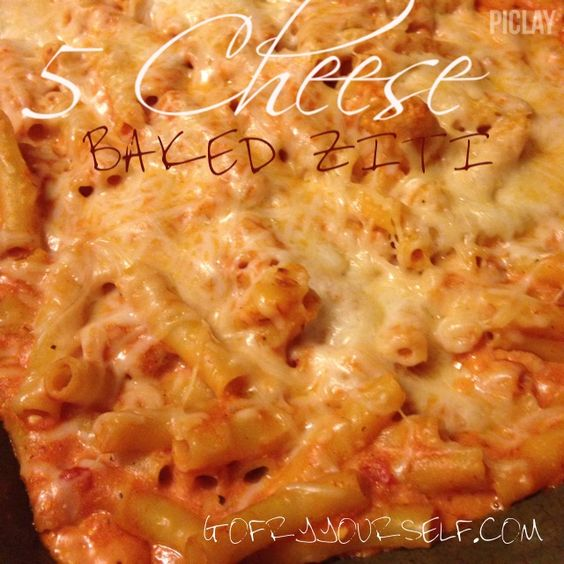 5 Cheese Baked Ziti