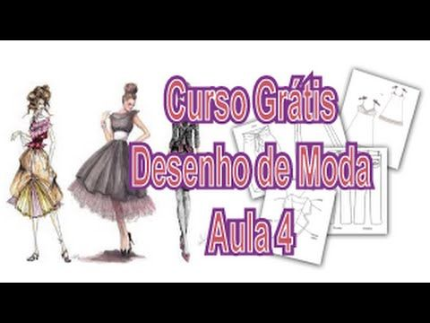 Curso Grátis - Desenho de Moda - Aula 4 - Partes do Vestuário
