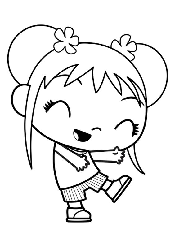 Ni Hao Kai Lan Characters Coloring Pages 01 Coloring Ni Hao Lan Coloring Pages