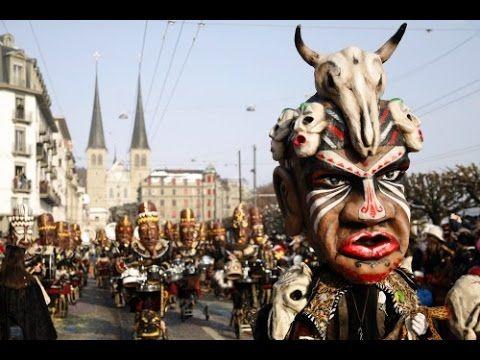 Luzerner Fasnacht 2015: Wey Umzug Montag Nachmittag