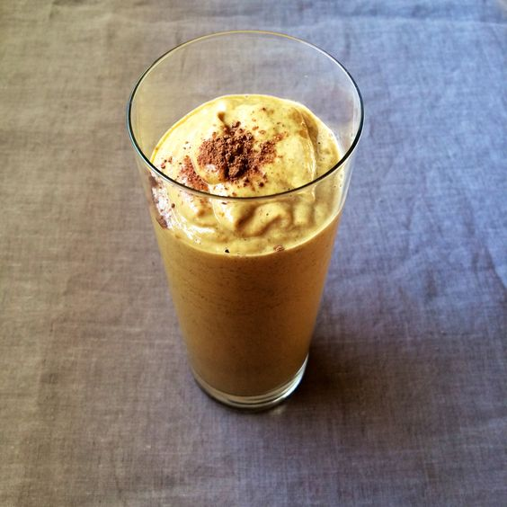 Pumpkin Pie Spice Smoothie --  Lauren Malloy   Certified Health Coach + Rouxbe-Trained, Plant-Based Cook