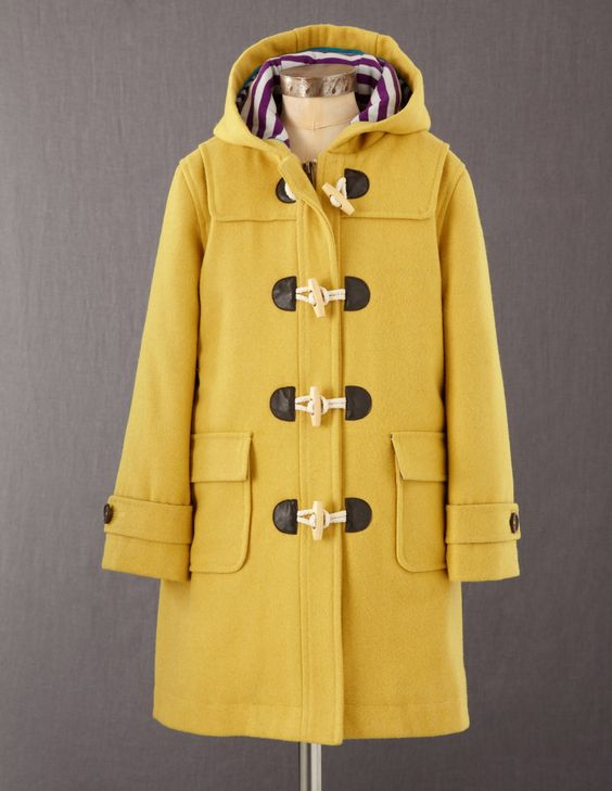Girl's Duffle Coat Mini Boden | fall 13 | Pinterest | Coats