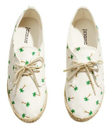 zapatillas palmeras printed shoes