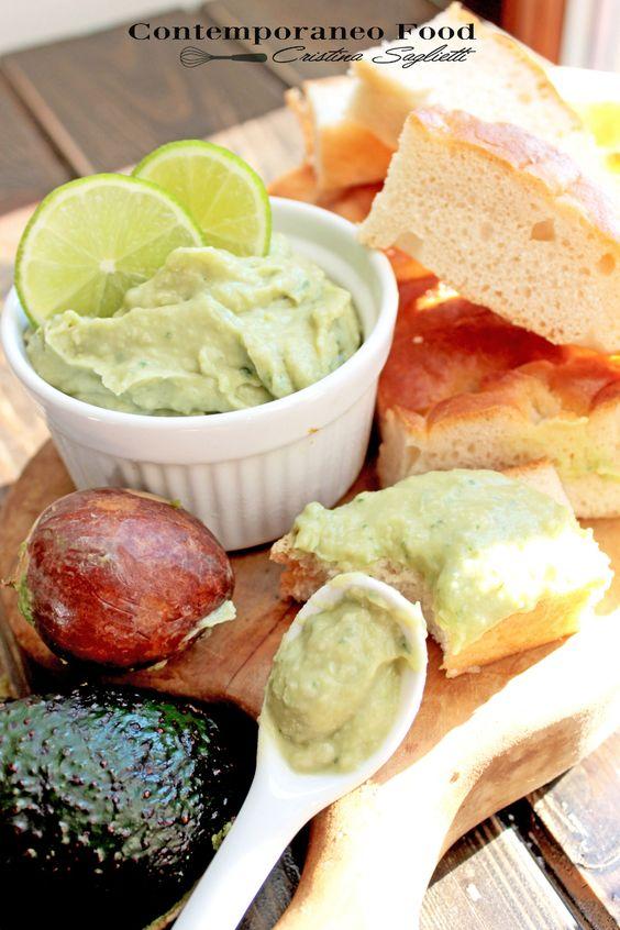 Crema di avocado e fagioli cannellini al profumo di lime
