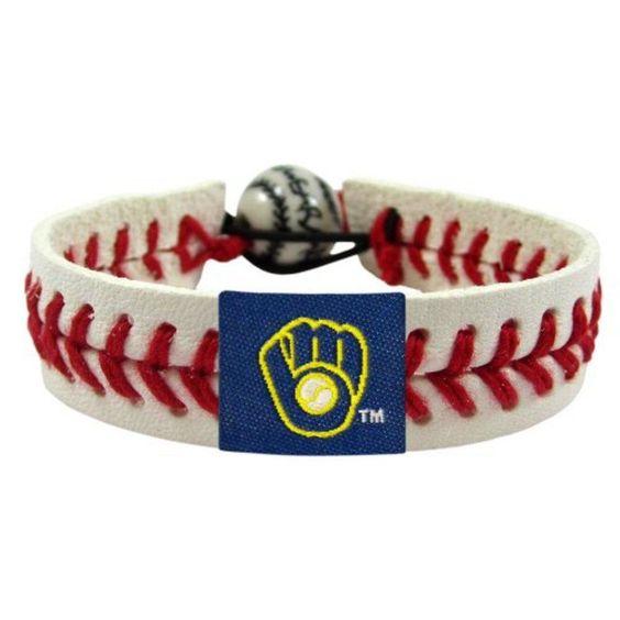 MLB Milwaukee Brewers Retro Classic Baseball Bracelet