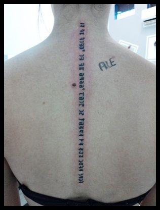 tatuagem coluna - Pesquisa Google