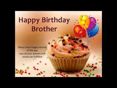 Brother Birthday Wishes Whatsapp Video Happy Birthday My Brother