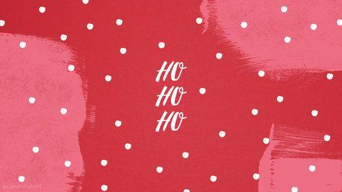 Ho Ho Ho Desktop Winter Wallpaper Desktop Christmas Desktop Wallpaper Holiday Wallpaper