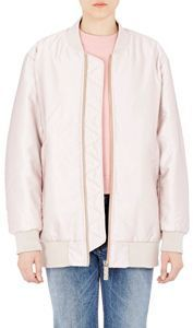 Selow Bomber Jacket-Pink. What a great look.