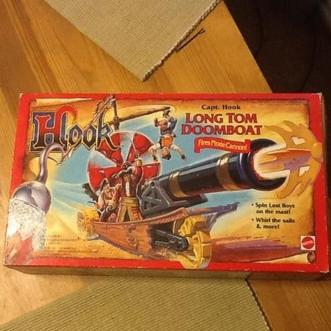 Super Rare Toy From The Film Hook 1991 Limited Numbers Produced