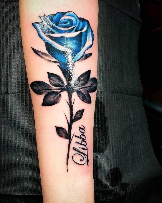 121 Trending Forearm Tattoos Meaning Media Democracy Forearm Tattoos Blue Rose Tattoos Rose Tattoos For Women