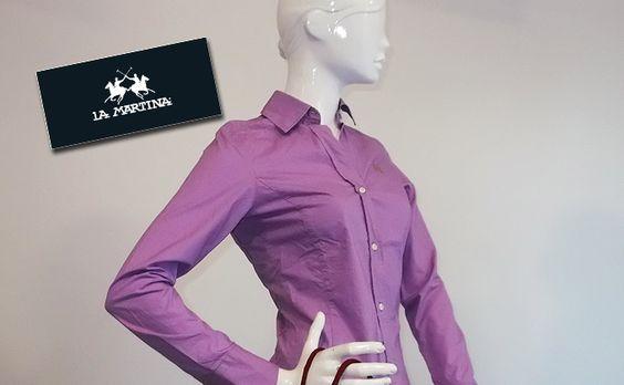 Llueix la camisa de moda de La Martina (dona) per 30€