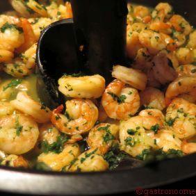 Crevettes à l'ail et au persil sans MG... trop bon ! #Recette, #Actifry, #Crevettes,