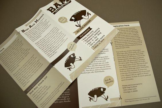 Bookstore Brochure  Design  Brochure    Brochure