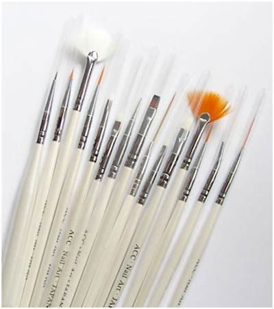7 Types Of Nail Art Brushes    Totally just bought them and already love em!