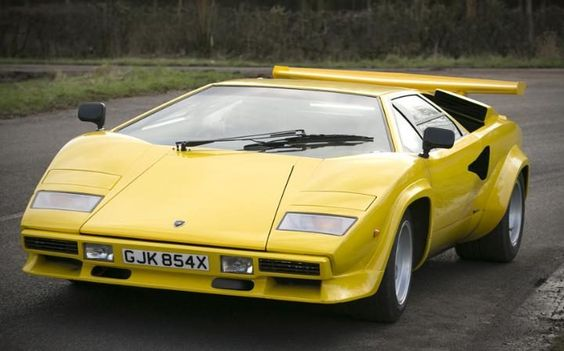 12,500KMs From New,1975 Lamborghini Countach LP400 U0027Periscopiou0027 Coupé  Chassis No. 1120070 Engine No. 1120068 | Coches | Pinterest | Lamborghini,  Engine And ...