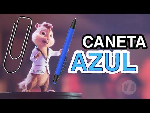 Caneta Azul Versao Alvin E Os Esquilos Video Clipe Youtube