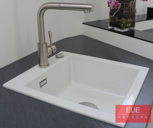 Keramikspüle Subway 45 Becken rechts - villeroy und boch waschbecken küche