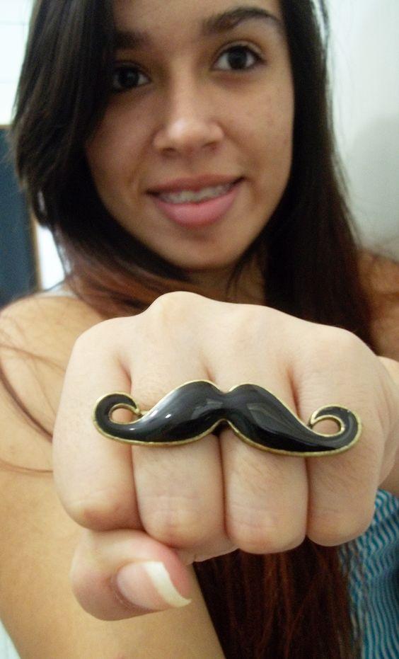 www.oasap.com/?fuid=20016  #bigode #anel #pretty #photo #acessorios #oasap #mustache