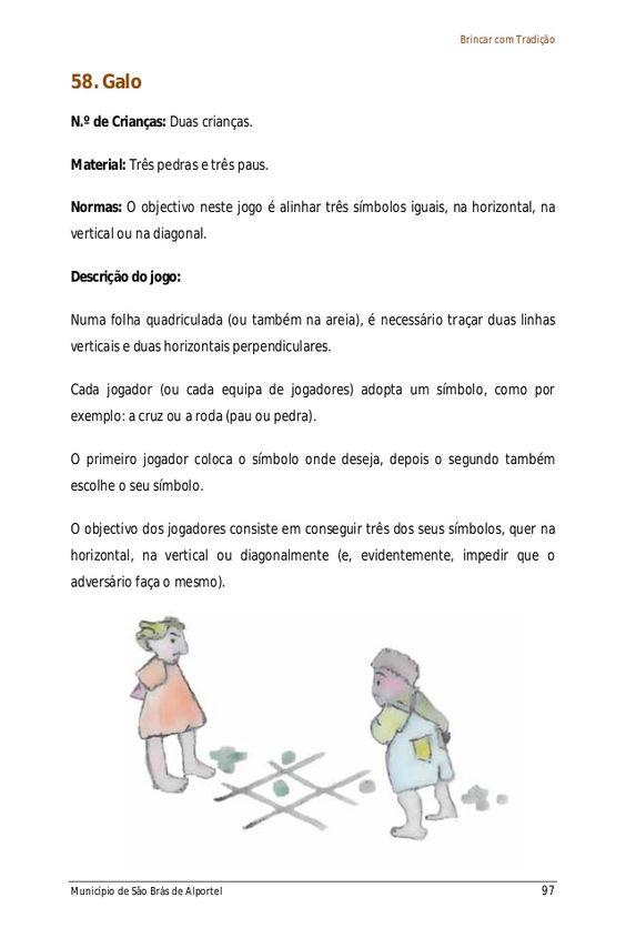 Livro Dos Jogos Tradicionais Portugueses Games For Kids Games