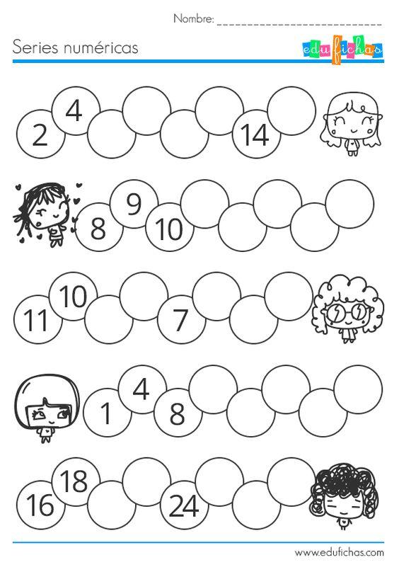 Resultado de imagen para series numericas matematicas