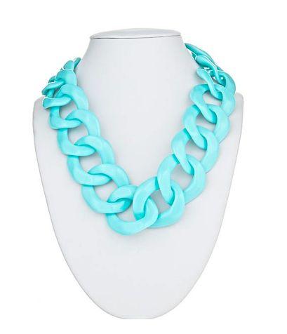 Short Turquoise Necklace