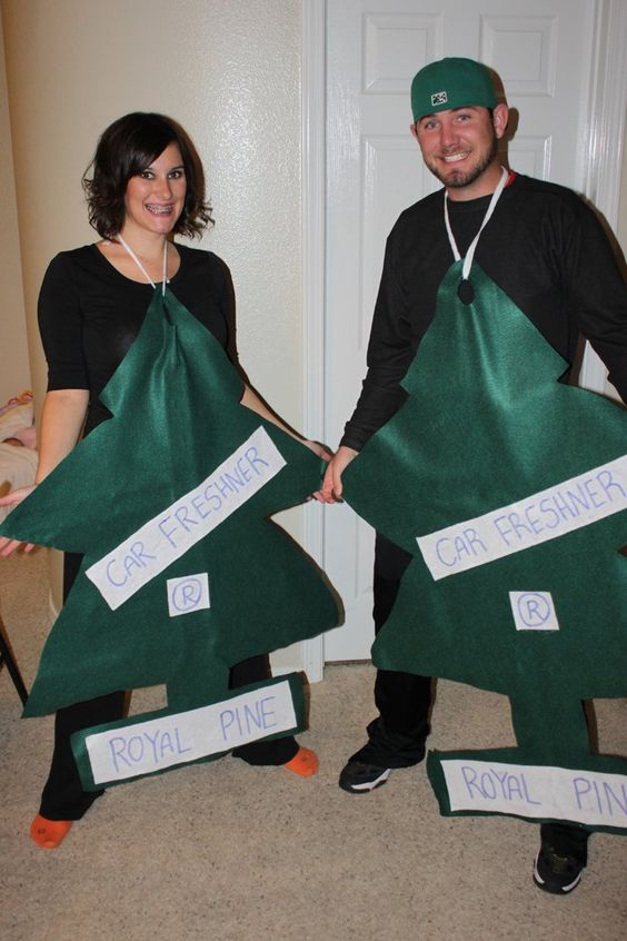 Air Fresheners - Homemade adult Halloween  costumes