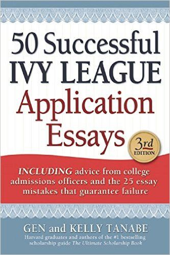 Ivy league essay examples