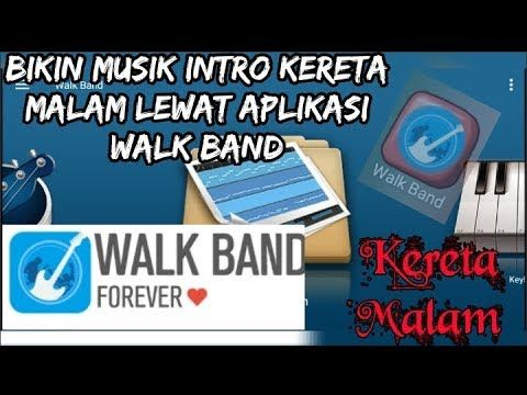 Bikin Musik Dengan Aplikasi Walk Band Wow Aplikasi Studio Musik Terlengkap Malam