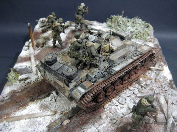Dioramas and Vignettes: StuG III in action, photo #10