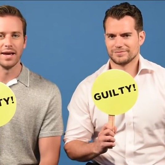 Have you ever...made a fake instagram or twitter acount?  #henrycavill #armiehammer #manfromuncle #celebritycrush