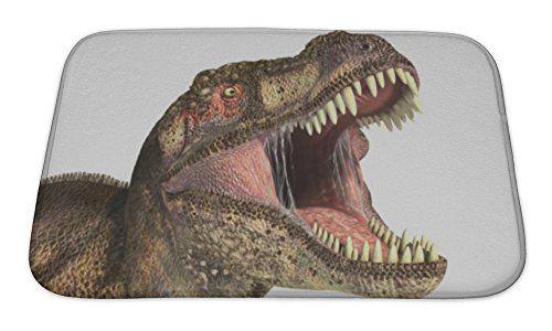 Gear New Tyrannosaurus Rex Dinosaur Bath Rug Mat No Slip Microfiber Memory Foam Tyrannosaurus Rex Tyrannosaurus Mat Rugs