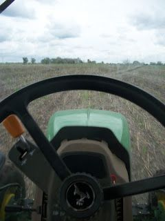 Tractor Seat View