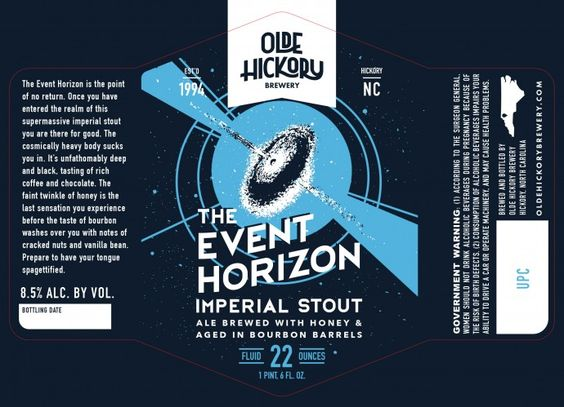 New Artwork: Olde Hickory The Event Horizon