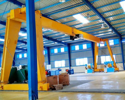 Single Girder Gantry Crane Gantry Crane Steel Structure Cranes For Sale