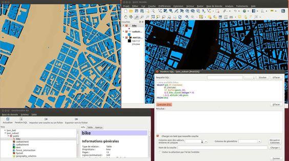 Oslandia's 3D plugin for QGIS