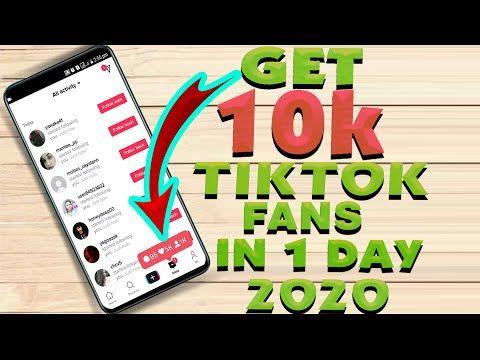 How To Get 10000 Tiktok Followers Everyday 2020 Free Tiktok Followers Hack Youtu Free Followers On Instagram Instagram Follower Free How To Get Followers