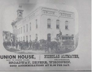 Old Union House Ad