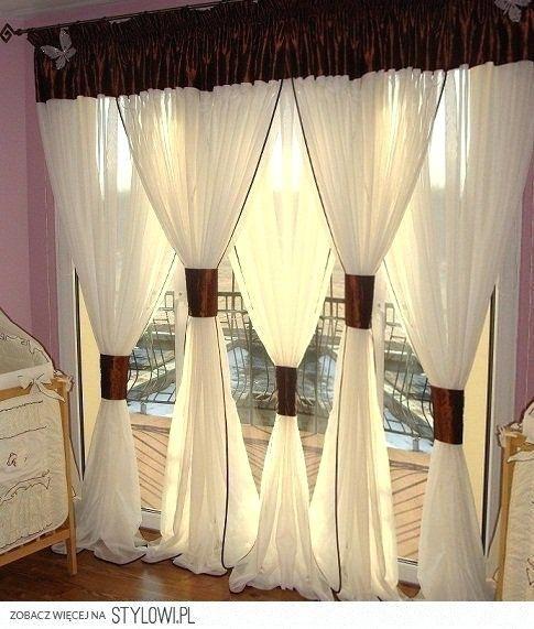 Double Curtains Curtains Decoration Ideas Pictures Images On Double Curtain Rods Double Curtains Double Lay Rideaux Faits Maison Rideaux Colores Rideaux Design