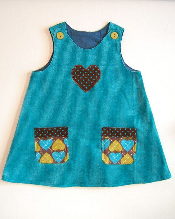 LOTS OF PATTERNS!  Free Easy Sewing Patterns   Free Sewing Pattern - A Very Simple Jumper from the Childrens clothing ...: