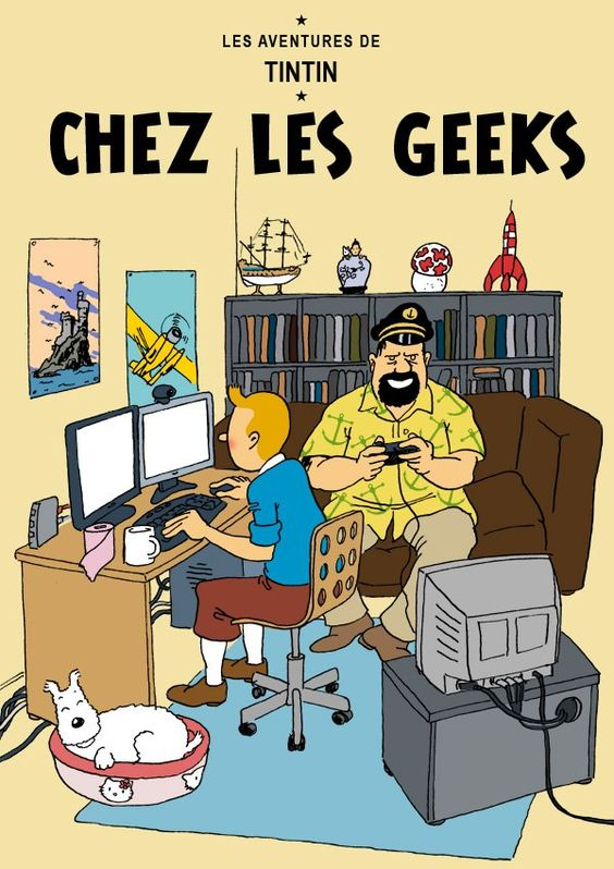Tintin chez les Geeks: