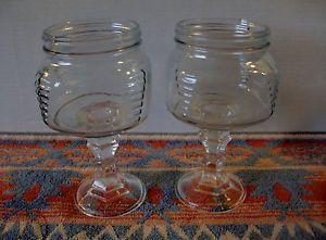 Unique Mason Cocktail Glasses!! Square Mason Jar Redneck 16oz Widemouth Country Wine Glass Mug Set of Two | eBay