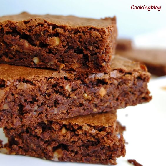 Cooking: Brownies com avelãs | Fudge brownies with hazelnuts