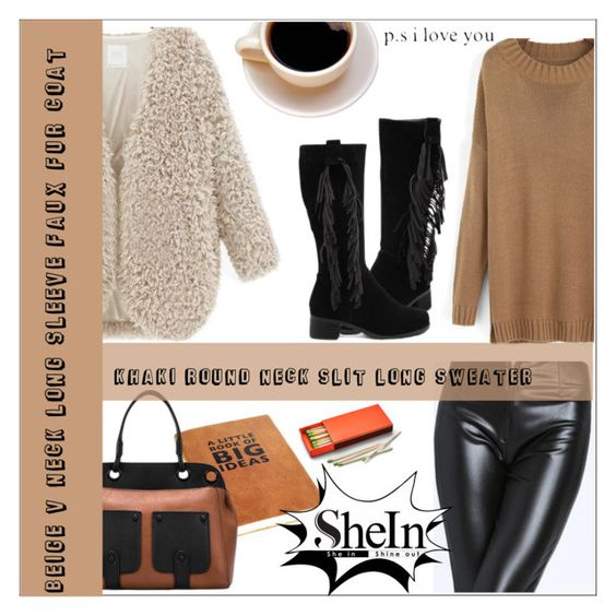 """""""SheIn 5."""" by selmir ❤ liked on Polyvore featuring moda ve FOSSIL"""