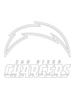 nfl logos cakes pinterest coloring pages logos and san diego
