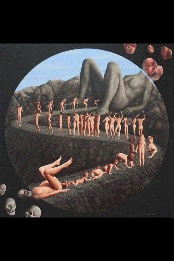 Reincarnation art