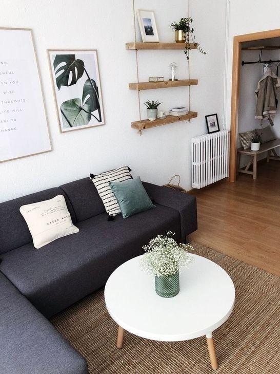 30 Minimalist Living Room Design Ideas For Small Space 30 Minimalist Living Ro Minimalist Living Room Decor Home Design Living Room Small Modern Living Room