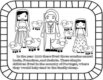 MIRACLE OF THE SUN - OUR LADY OF FATIMA - CATHOLIC BOOKLET - TeachersPayTeachers.com